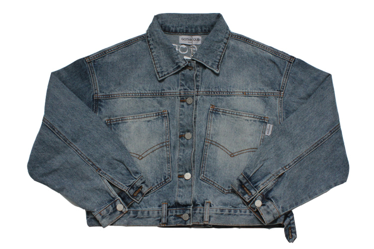 Short Denim jacket [G8SB02U60]
