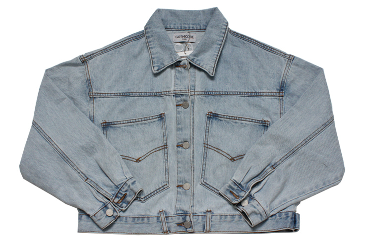 Short Denim jacket [G8SB02U61]