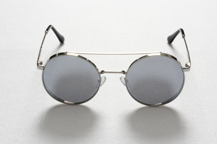 Silver Circle Sunglasses [G8SD32U10]