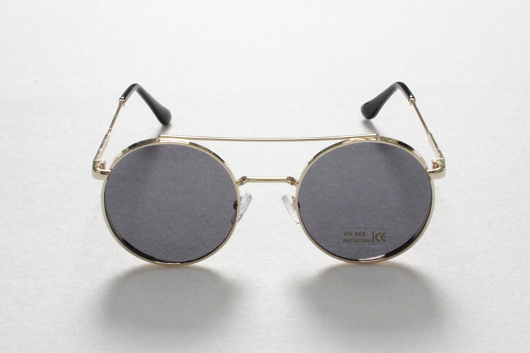Gold Circle Sunglasses [G8SD32U11]
